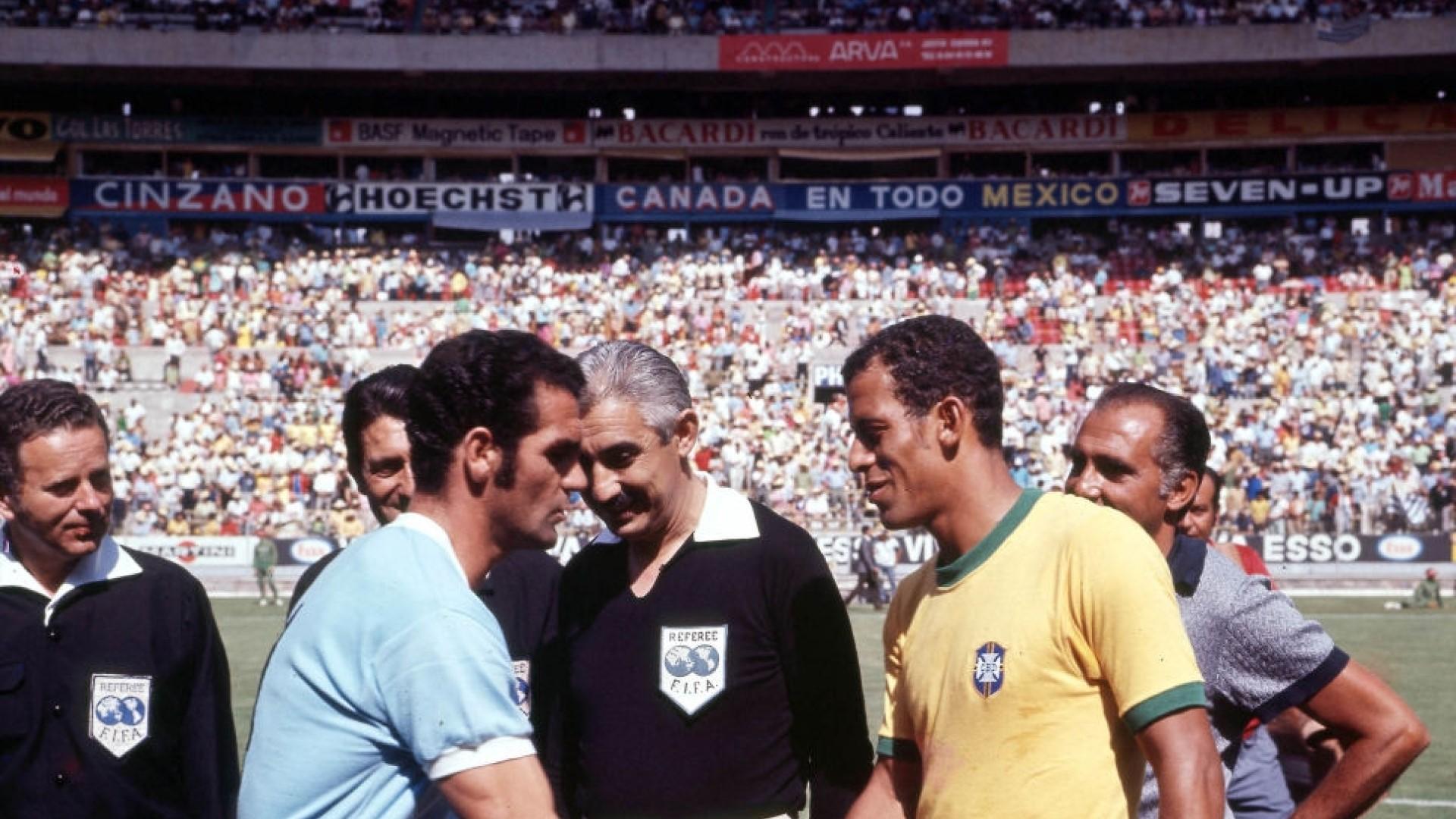 brazil v urugaay1970