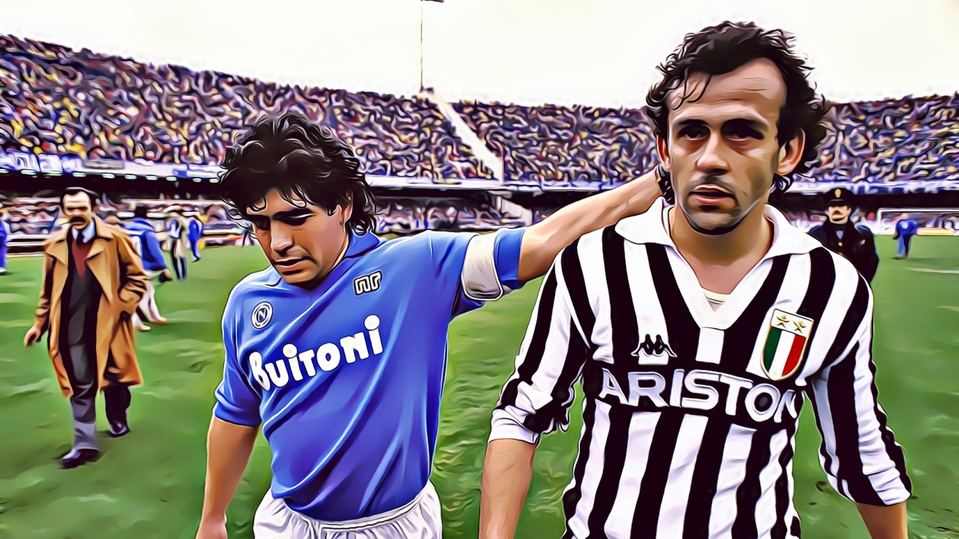 Diego and Michel