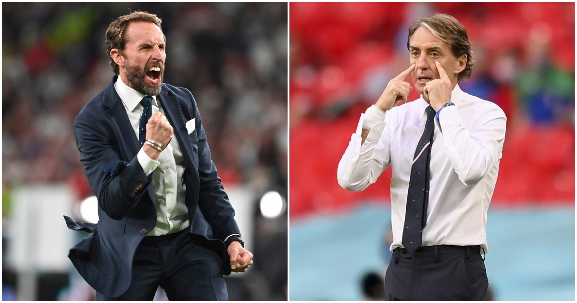 A-composite-picture-of-Gareth-Southgate-and-Roberto-Mancini
